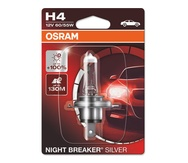 Галогеновые лампы Osram Night Breaker Silver H4 - 64193NBS-01B
